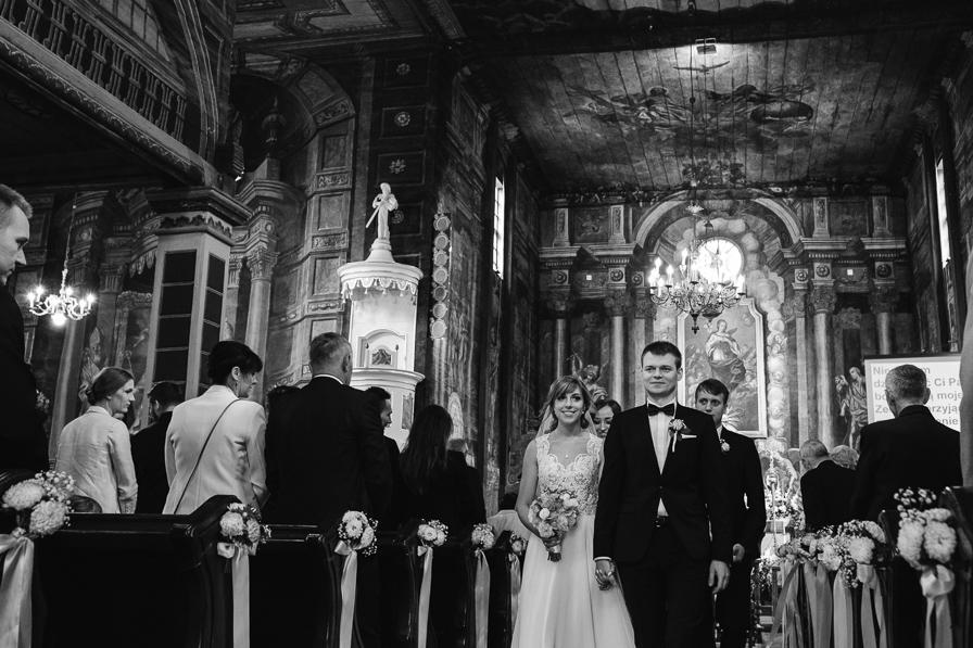 Kameralny ślub I Uroczysty Obiad Justyna I Kamil Fotografia